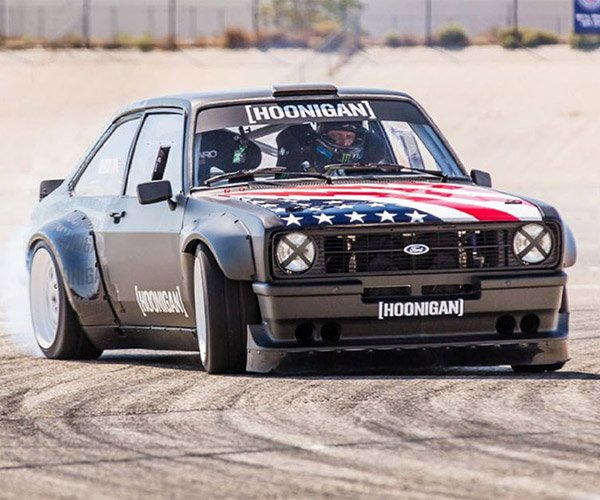 Ken Block's Latest Ride is a '78 Ford Escort Mk2