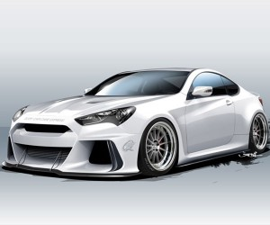 APK Racing and Hyundai Show off Solus Genesis Coupe