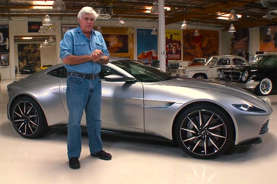 Jay Leno Goes Hands-on with Bond's Aston Martin DB10