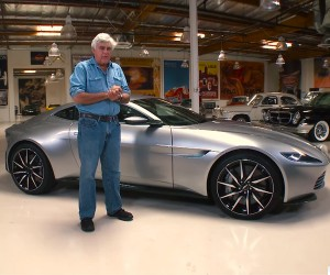 Jay Leno Goes Hands-on with Bond's Aston Martin DB10