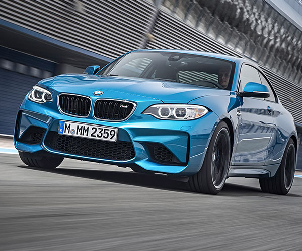 2016 BMW M2 Coupe Gets 370 hp and a Manual Version