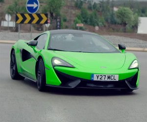 McLaren's 570S Aims to Be a Daily Driver Supercar
