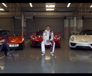 Which is Fastest: McLaren P1, Ferrari LaFerrari or Porsche 918?