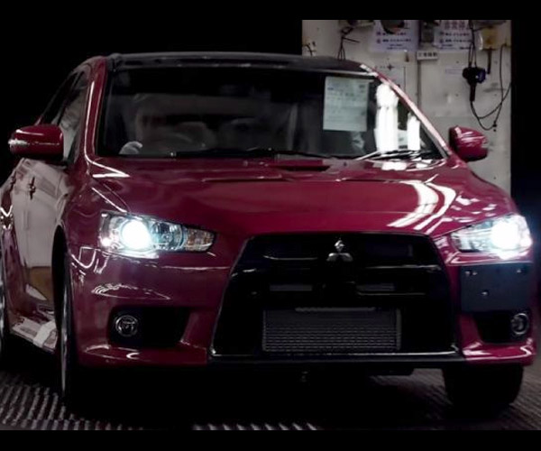 Mitsubishi Video Shows Assembly of Lancer Evo Final Edition