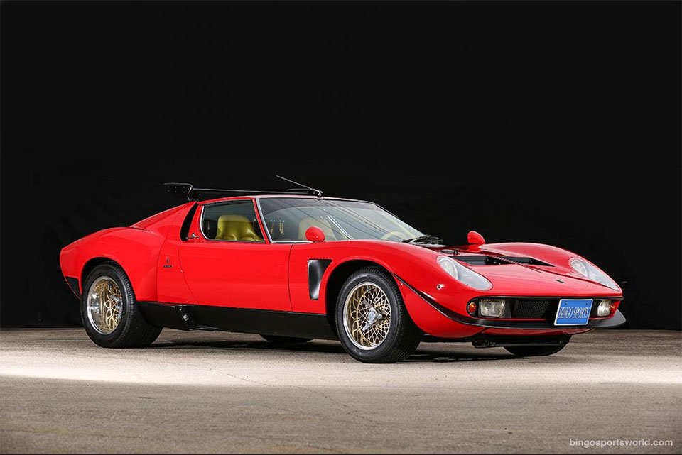Incredible Lamborghini Miura Jota SVR for Sale