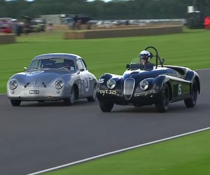 An Epically Gorgeous Porsche 356 Runs Hard at Goodwood