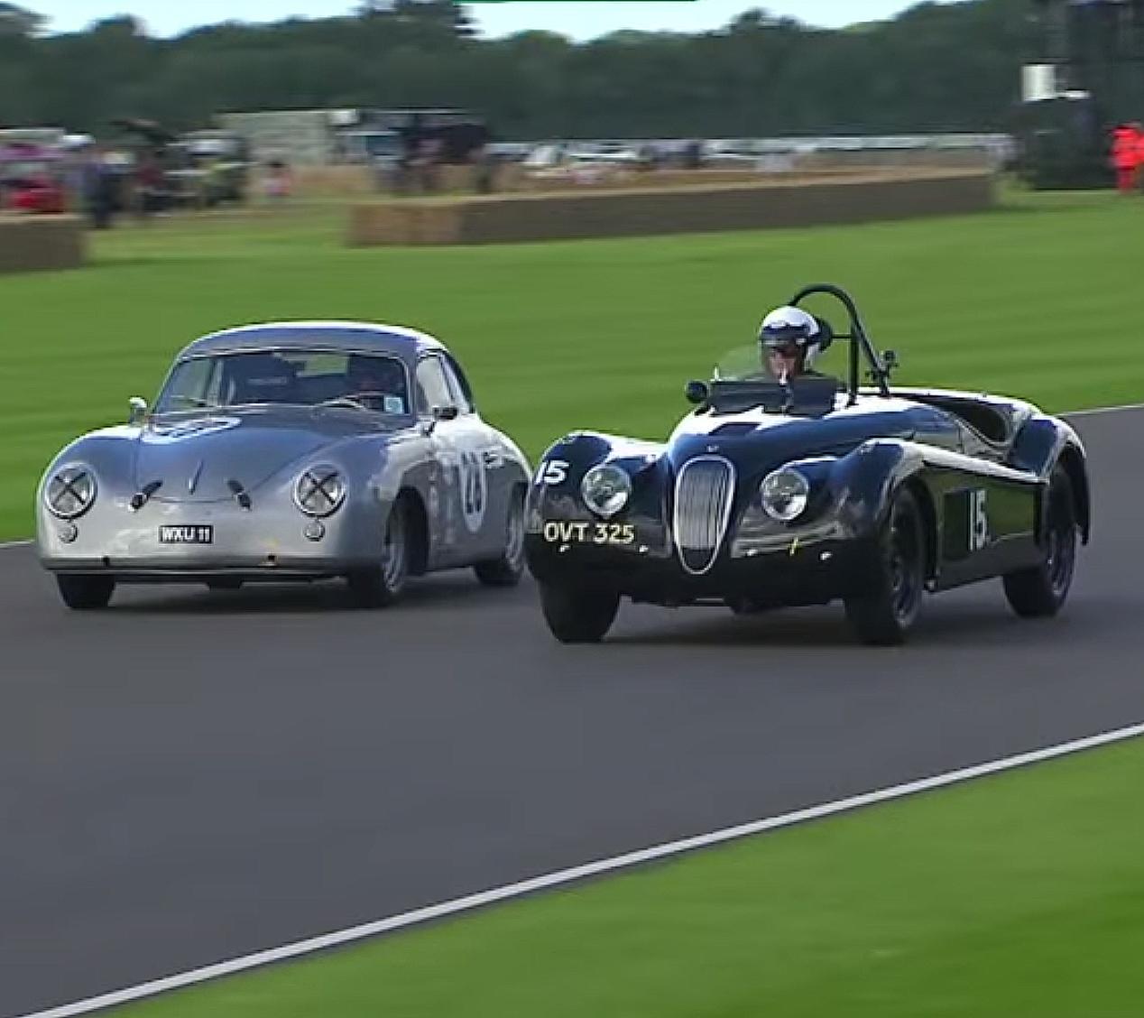 An Epically Gorgeous Porsche 356 Runs Hard at Goodwood