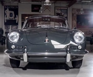 Jay Leno Checks out a 1964 Porsche 356C Restomod