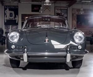 Jay Leno Checks out a 1964 Porsche 356C Restomod