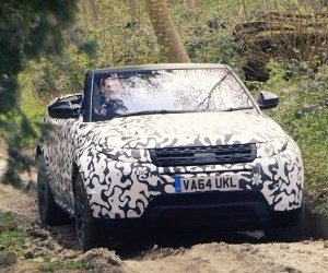 The Land Rover Evoque Convertible Goes Off-Road