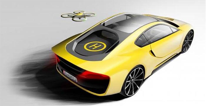 Rinspeed Σtos Autonomous Concept Has a Drone Helipad