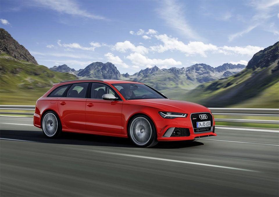 Audi RS 6 Avant Performance Wagon Hauls Stuff and Hauls Arse
