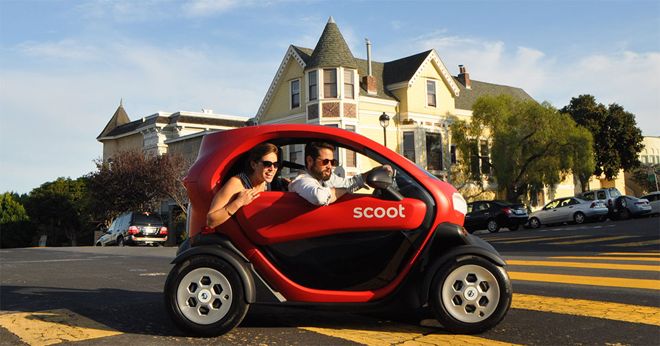 Scoot Quad Is A Nissan Concept Ev You Can Rent In San Fran