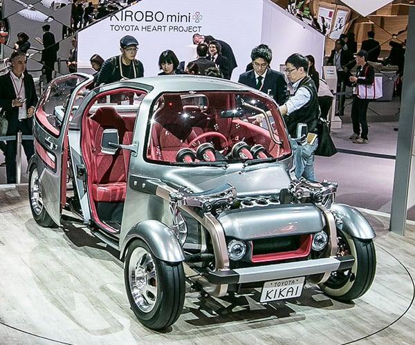Toyota Kikai Concept is Strangely Awesome