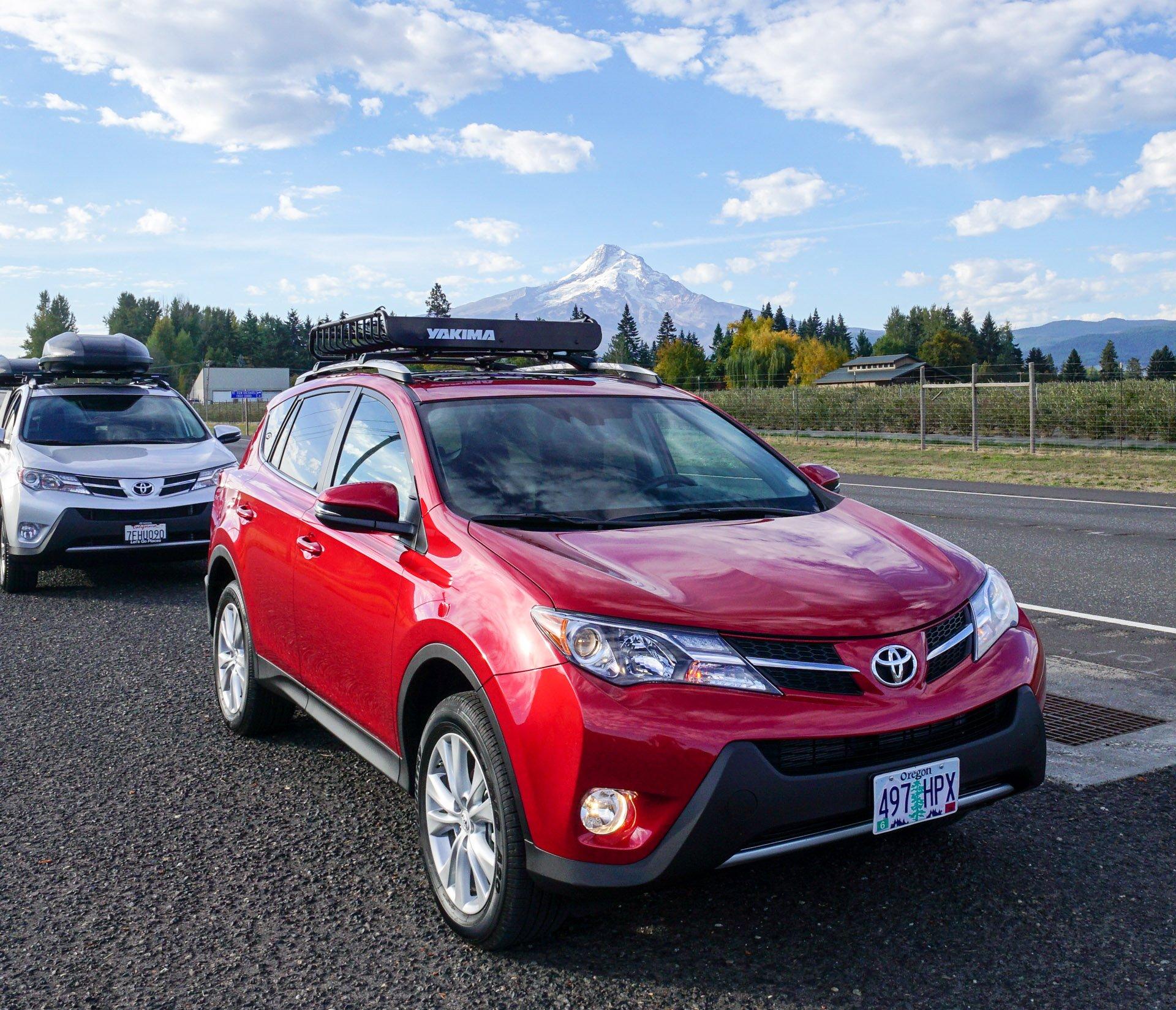 Adventures in the Toyota RAV4