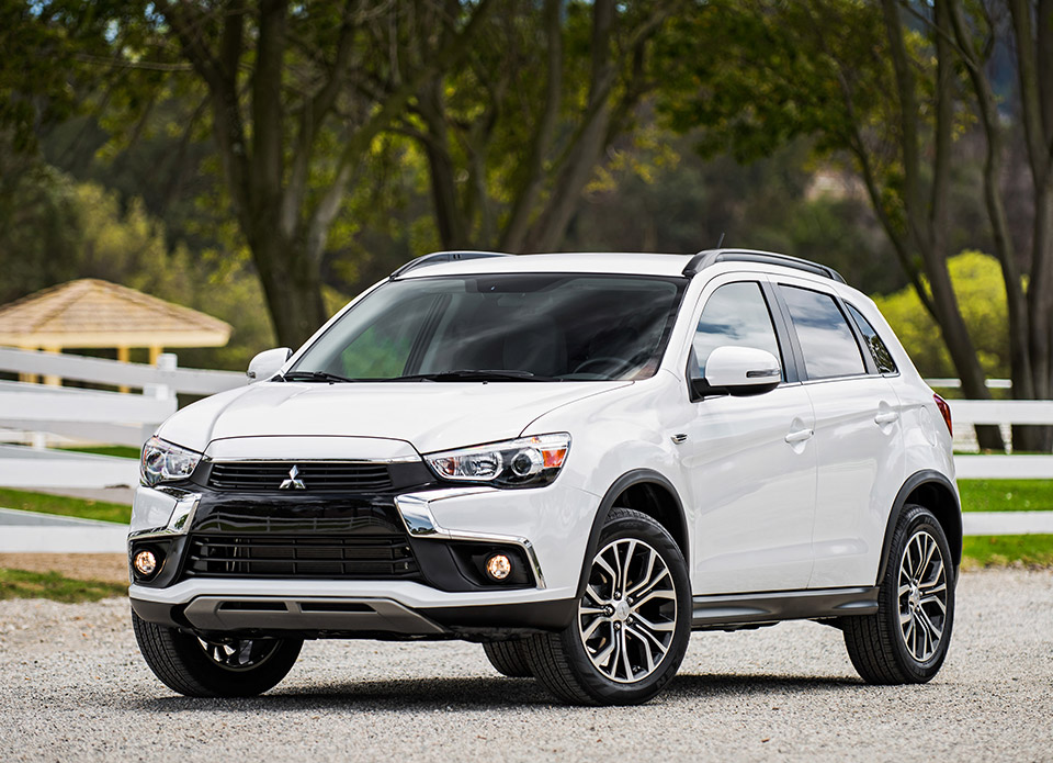 2016 Mitsubishi Outlander Sport and 2017 Mirage Break Cover