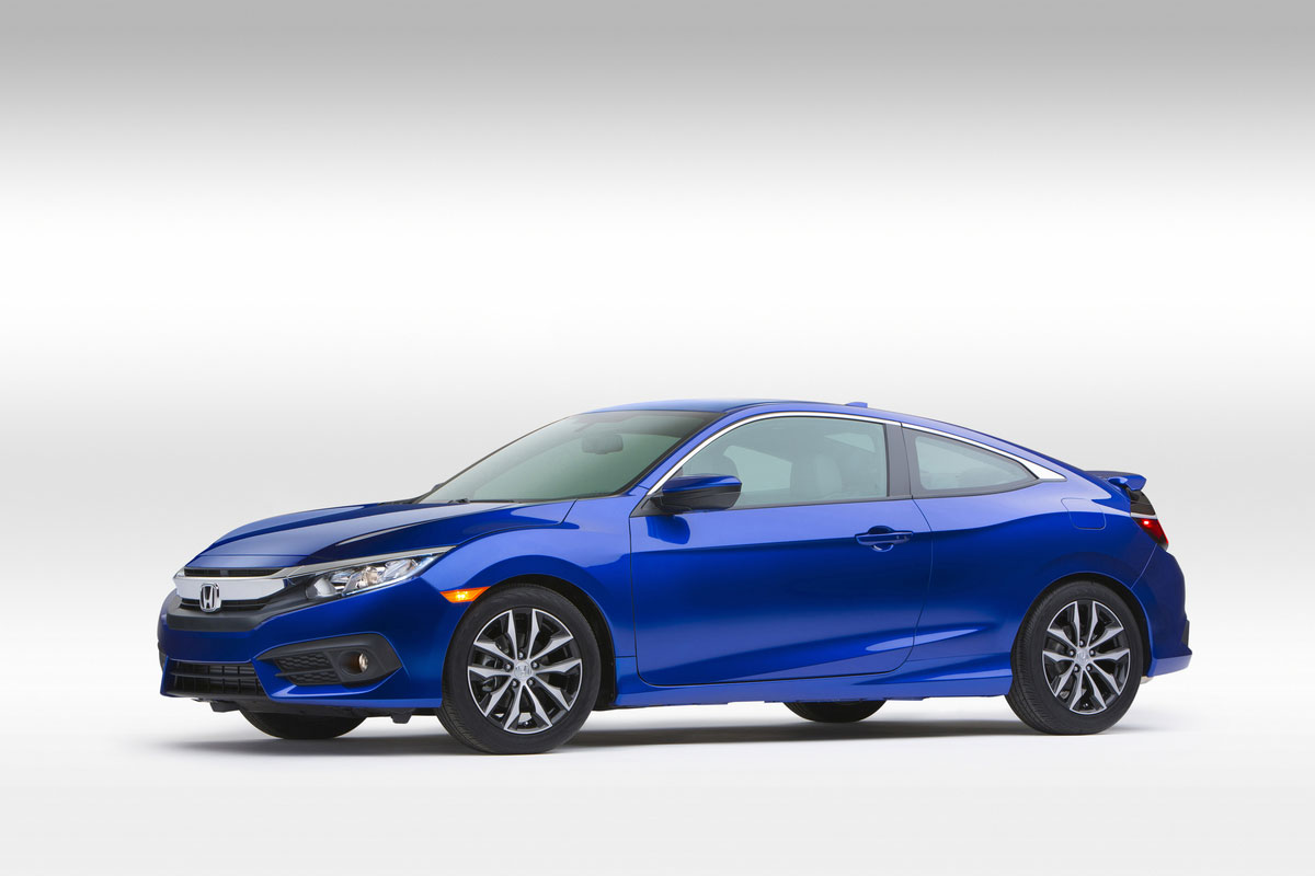 2016 Honda Civic Coupe Debuts