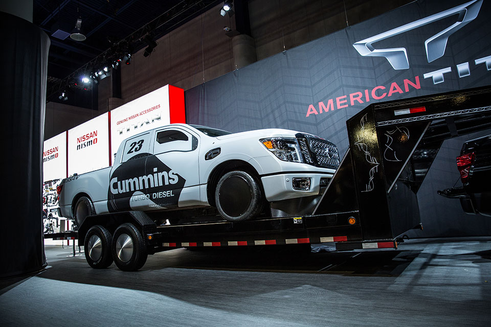 "Nissan Titan XD ""Triple Nickel"" Land Speed Racer Unveiled"