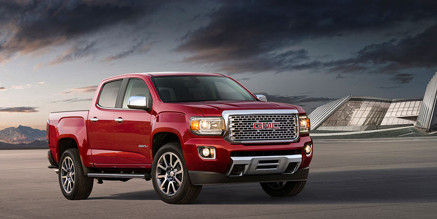 GMC Denali Badge Headed to Canyon Mid-Size Truck