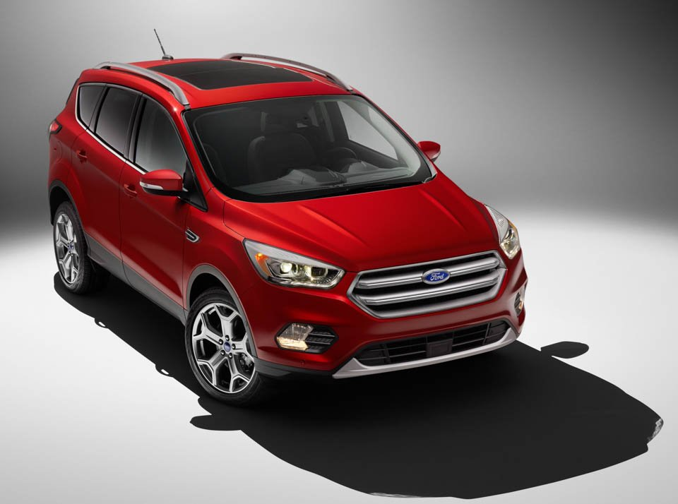 2017 Ford Escape Breaks Cover