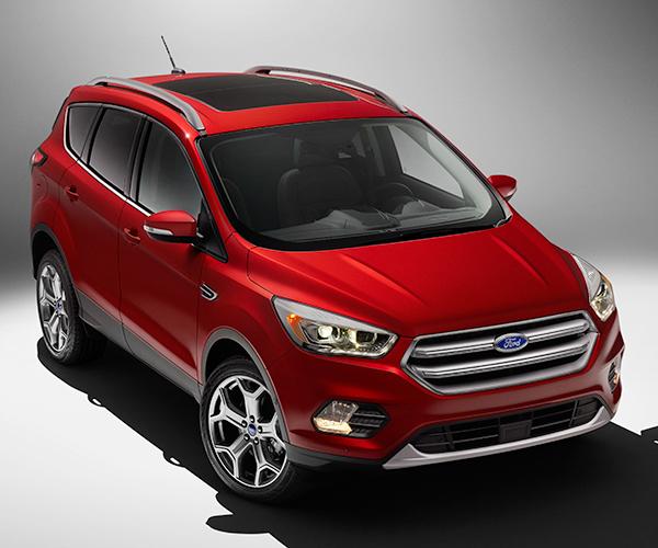 2017 Ford Escape Breaks Cover