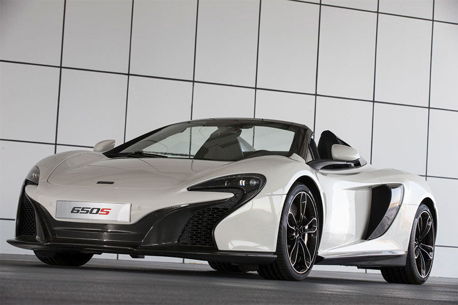 McLaren 650S Spider Al Sahara 79 is the Middle Eastern Gold Standard