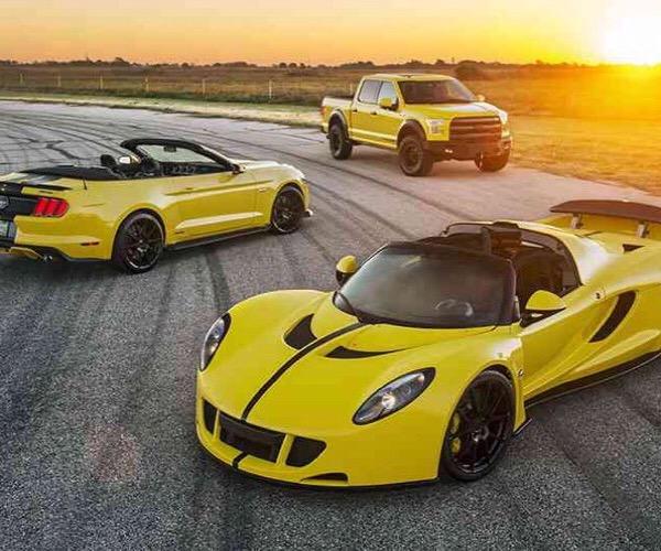 Hennessey Venom GT Spyder Packing 1451 hp Heads to SEMA