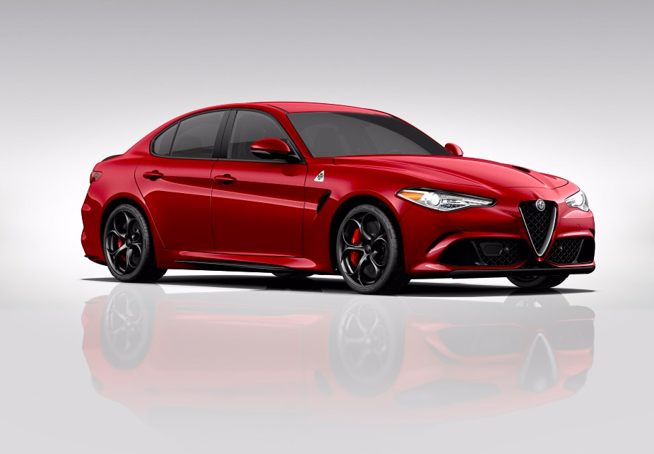 alfa romeo giulia quadrifoglio mini configurator goes live 95 octane. Black Bedroom Furniture Sets. Home Design Ideas