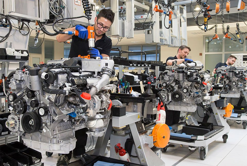 Mercedes-AMG Expands 12-cylinder Engine Production