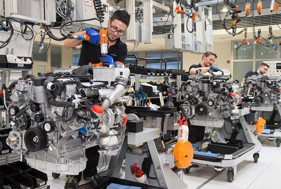 Mercedes-AMG Expands 12-cylinder Engine Production