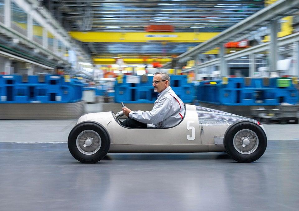 Audi Toolworks 3D Prints a 1936 Grand Prix Racer Replica