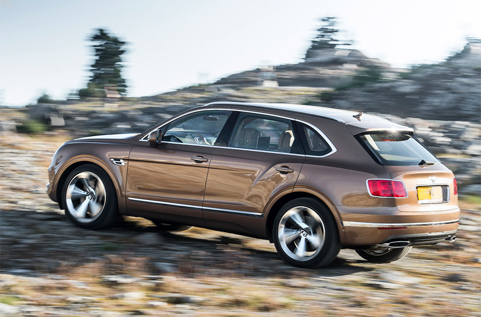 Bentley May Be Working on More Potent Bentayga
