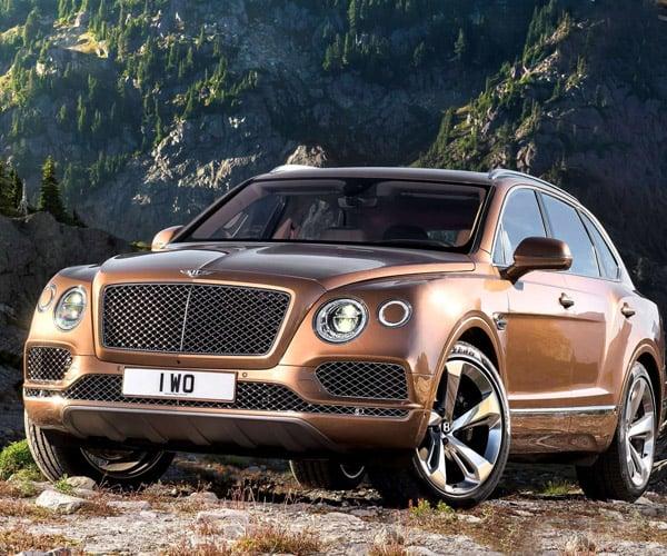 Bentley May Be Working on More Potent Bentayga