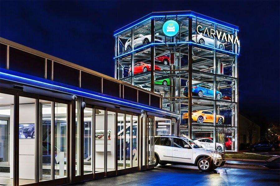 carvana nashville vending machine