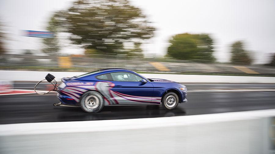 2016 Ford Cobra Jet Mustang Drag Racer Breaks Cover 95 Octane