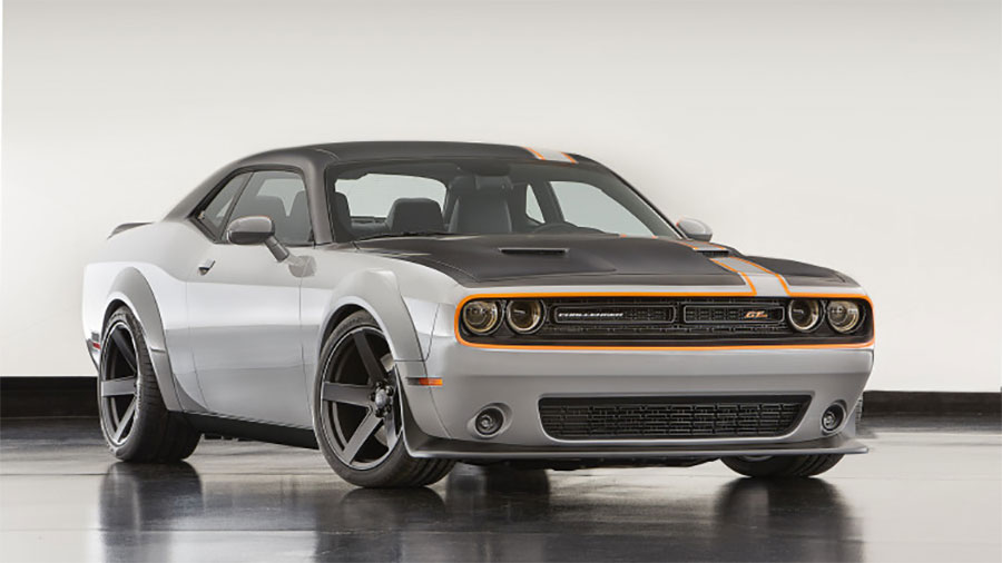 Challenger GT AWD Concept Graces Mopar Booth at SEMA