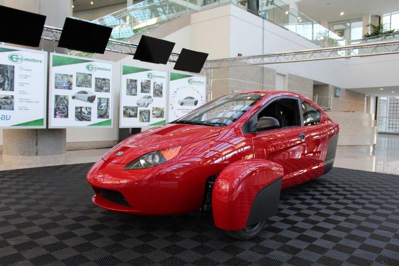 Elio Motors P5 Prototype Turns up at LA Auto Show