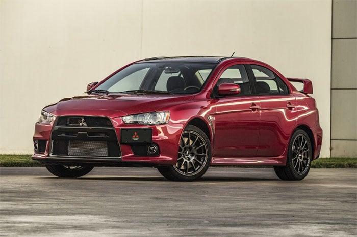 US0001 Mitsubishi Evo Final Edition Auction hits eBay