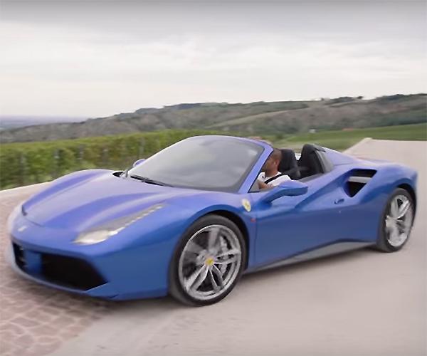 Take a Quick Italian Tour in the Ferrari 488 Spider
