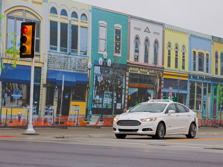 Ford First to Test Autonomous Cars at MCity
