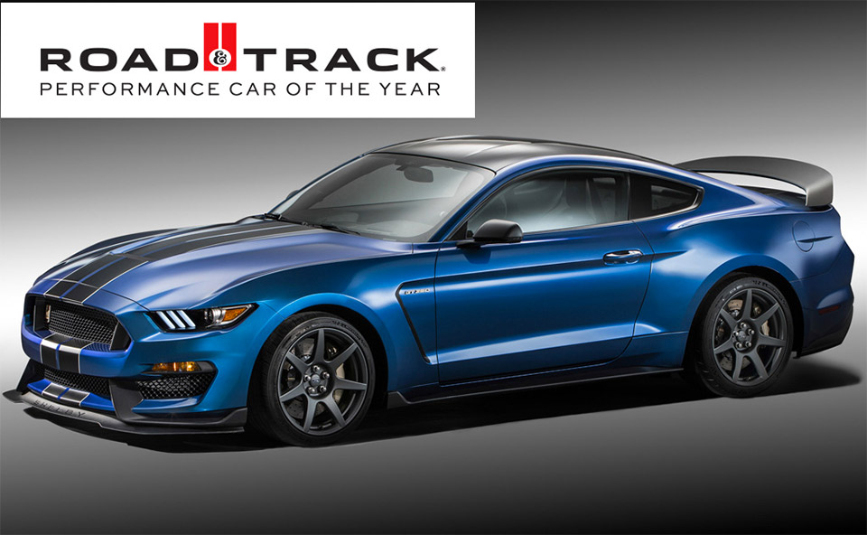 Road & Track Names Shelby GT350R Performance Car of the Year