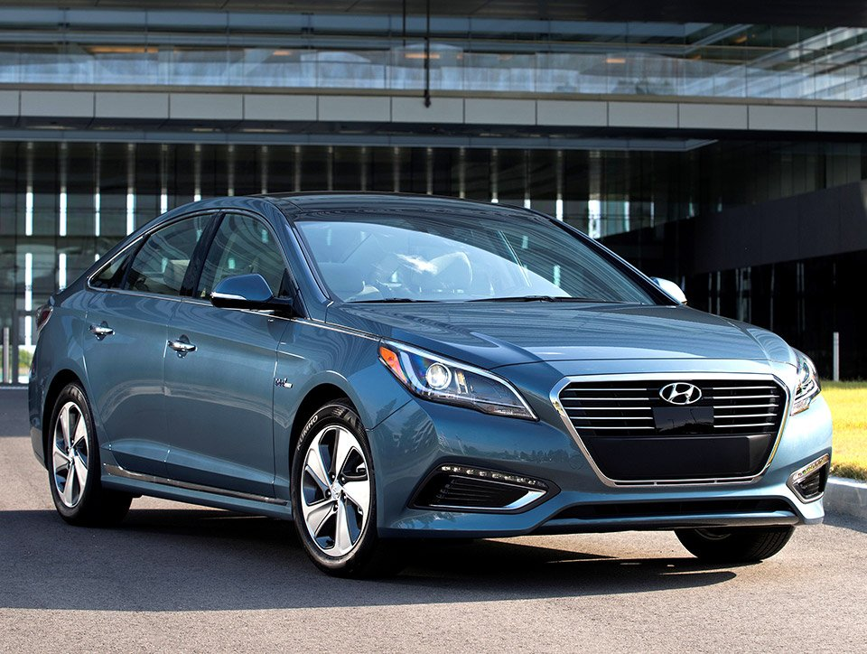 2016 Hyundai Sonata Plugin Hybrid Announced
