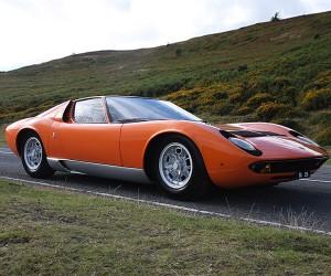 "Lamborghini Miura from Original ""The Italian Job"" for Sale"