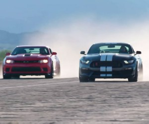 2016 Shelby GT350R and 2015 Camaro Z/28 Go Head to Head