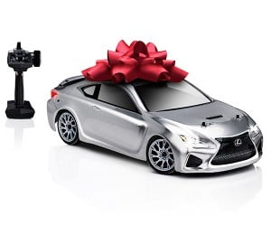 Lexus RC F Remote Control Car Pays Tribute to Super Bowl Ad