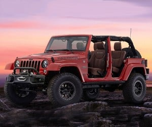 Jeep to Produce 50 Wrangler Red Rocks Based on SEMA Concept