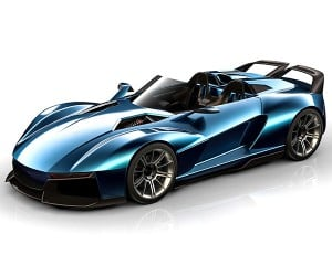 Rezvani Beast X Packs 700hp into an 1850-Pound Sports Car