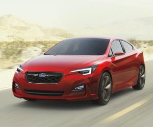 Subaru Impreza Sedan Concept Hints at Sleek Future WRX