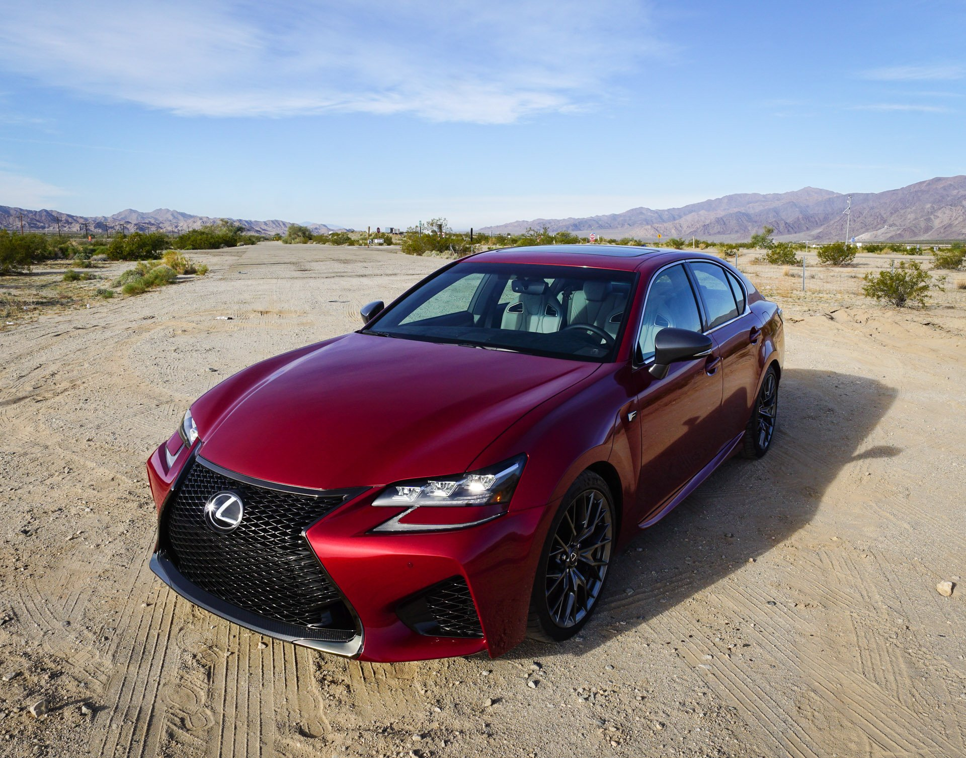 first drive review 2016 lexus gs f 95 octane. Black Bedroom Furniture Sets. Home Design Ideas