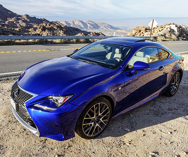 Lexus Sport: A Week With The Lexus RC 350 F Sport